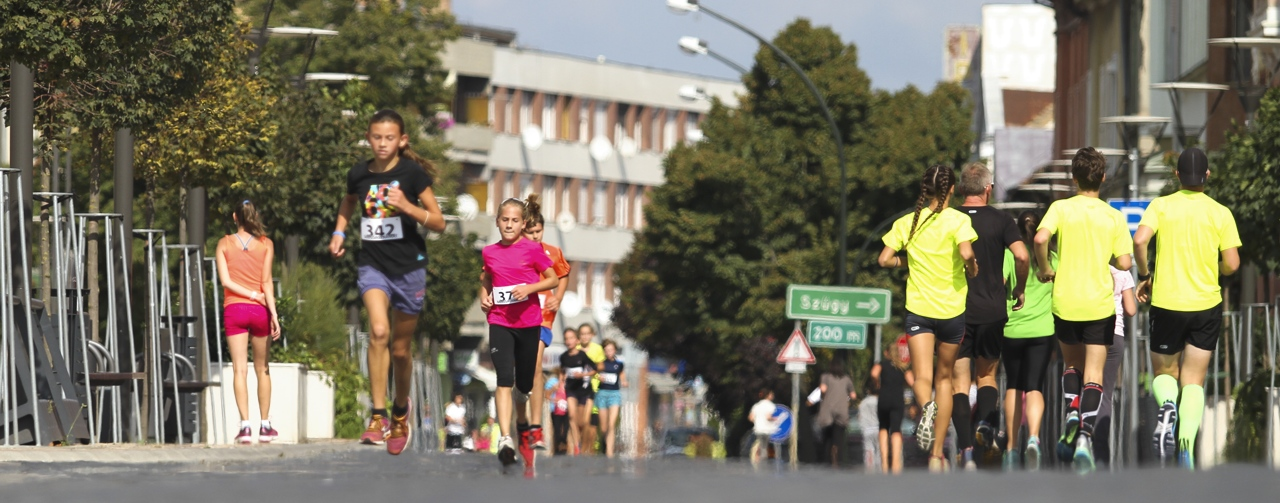 Road running competitions